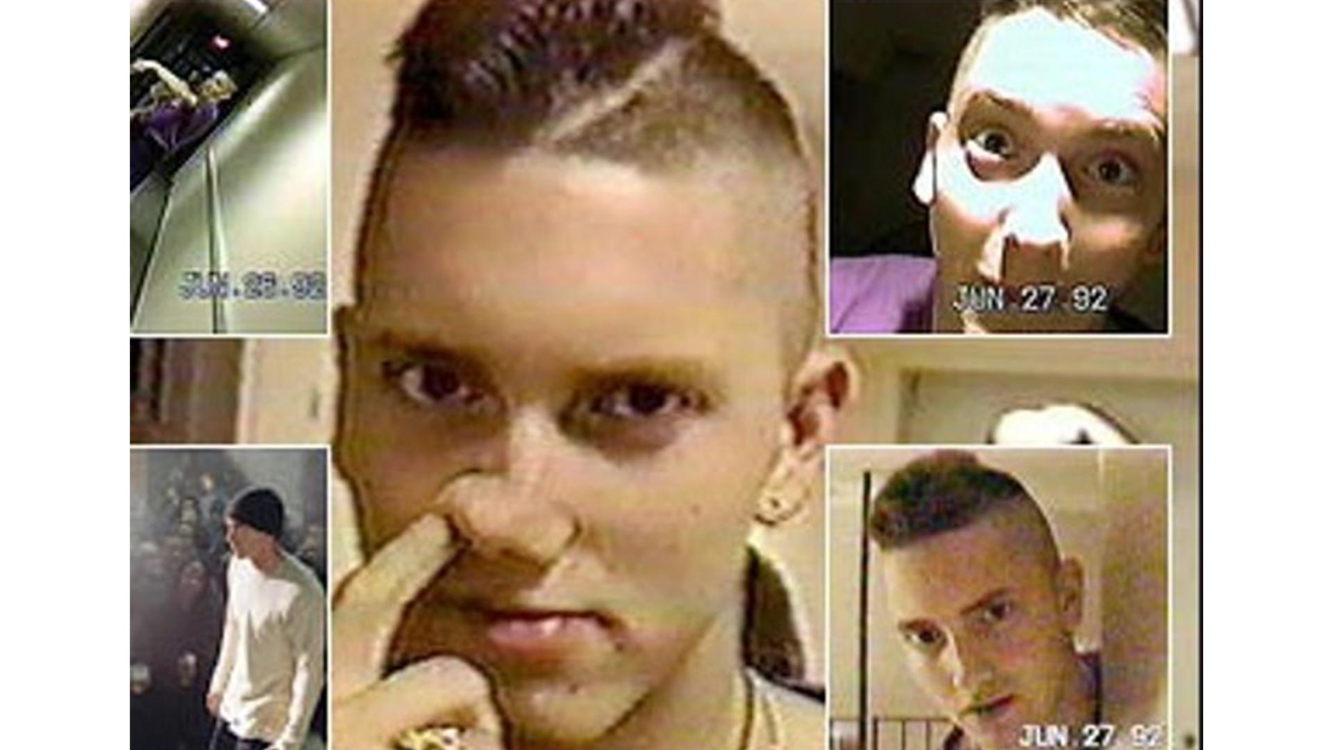 Архивные кадры: Эминем из 1992