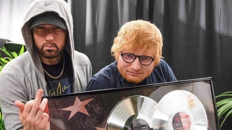 Трек Эминема и Эда Ширана «River» набрал 600 миллионов прослушиваний на Spotify