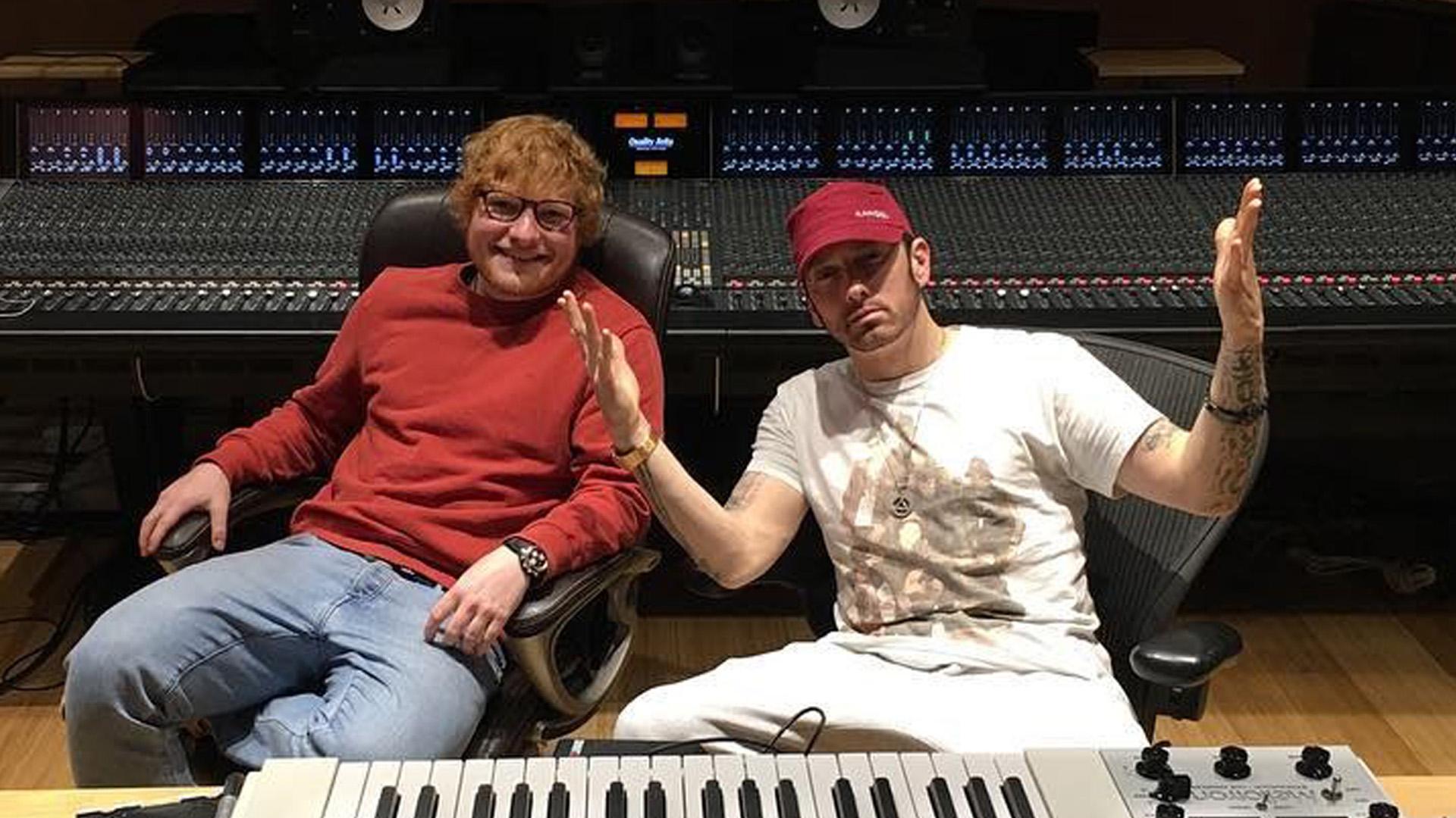 ed Sheeran eminem ширан эминем