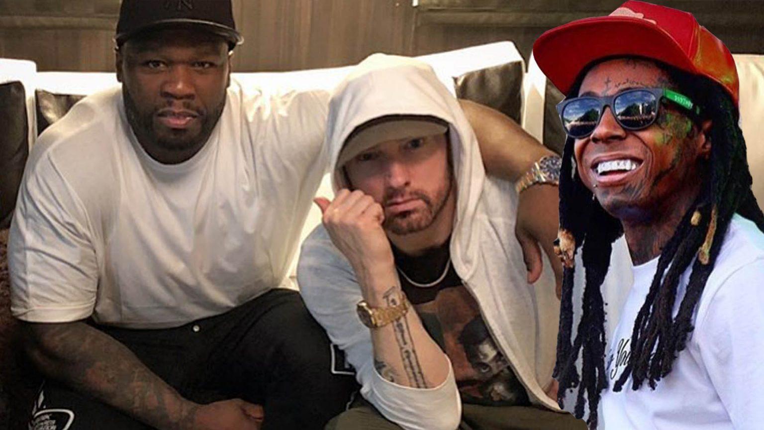 50 Cent на радио Лила Уэйна: «Рэперы не были бы коммерчески успешными без Эминема»