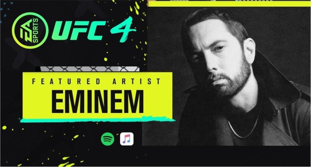 Эминем появился на официальном саундтреке UFC 4