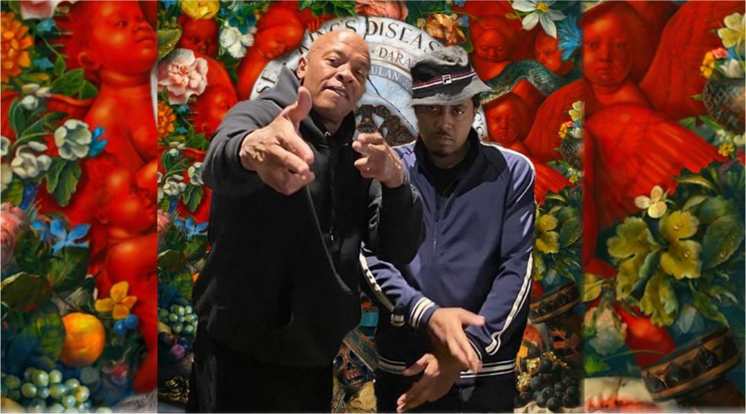 Рэпер Нас спрятал Доктора Дре на своем треке с нового альбома